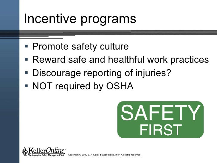 Safety incentives for Workplace safety program template