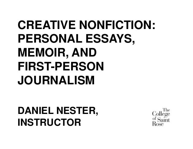 essays on fiction and nonfiction The nonfiction writing program encourages students to explore new approaches to creative nonfiction while also developing an appreciation for the genre's deep and fascinating history visiting writers.