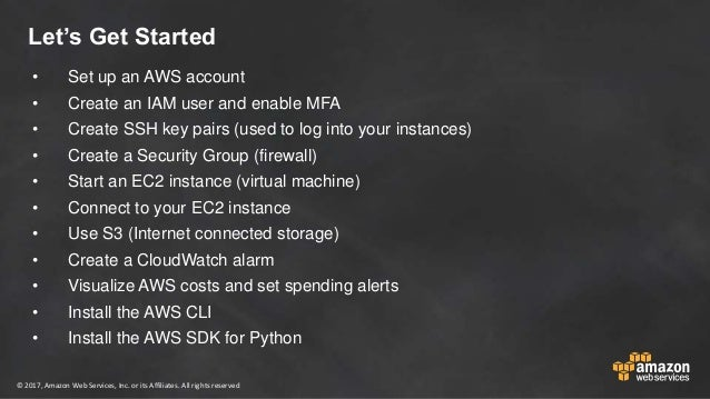 Hands on Setup and Overview of AWS Console, AWS CLI, AWS SDK