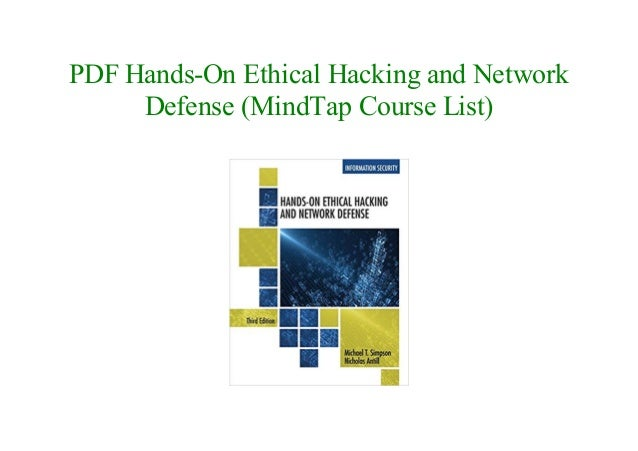Hands-on Ethical Hacking And Network Defense Ebook