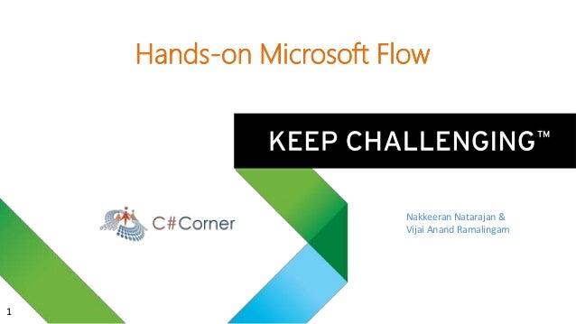 Hands-on Microsoft Flow