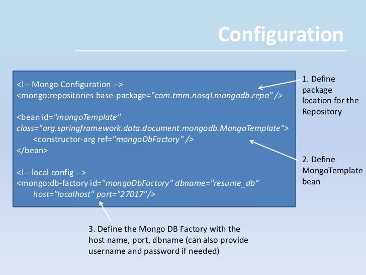 Before proceeding, install MongoDB – full details are available: http://www.mongodb.org/display/DOCS/Quickstart
