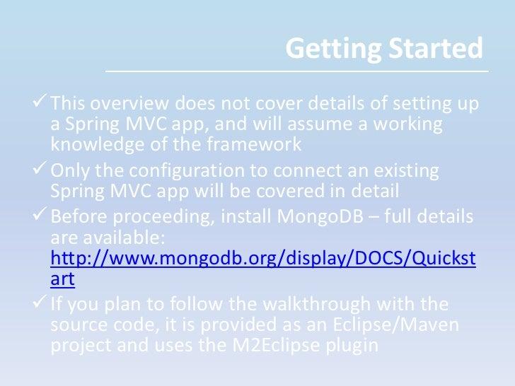 MongoDB<br /><ul><li>An Open Source Document oriented database