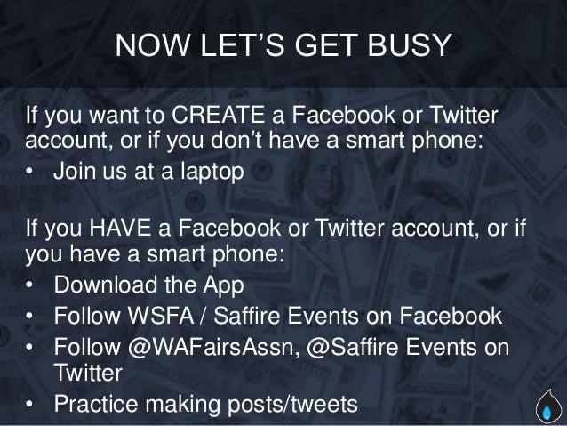 Hands on social media