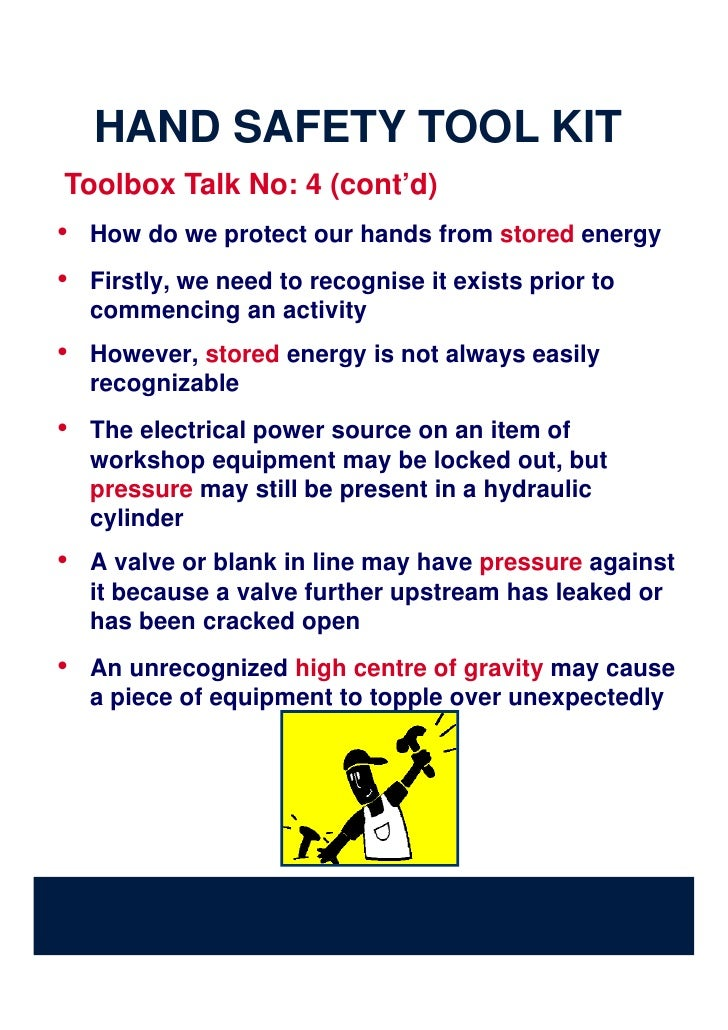 Hand Safety Toolkit From Iadc Website