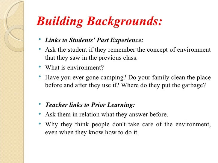 On Activity Presentation Siop Lesson Plan Template
