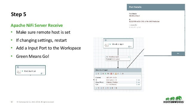 32 © Hortonworks Inc. 2011–2018. All rights reserved. • Make sure remote host is set • If changing settings, restart • Add...