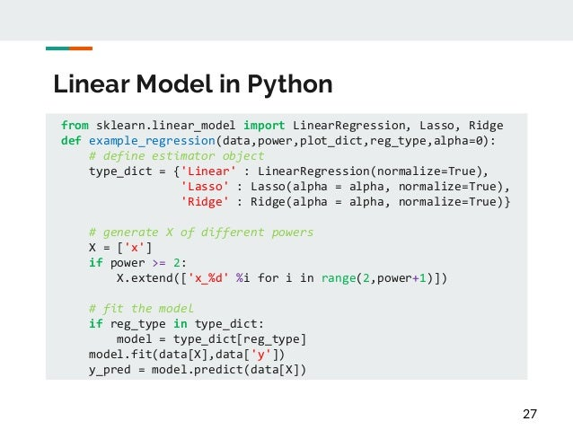 Hands-on Tutorial of Machine Learning in Python