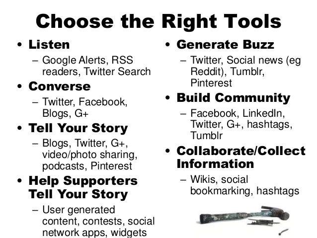 Social Media Strategic Guidelines http://www.flickr.com/photos/waderockett/171688464/