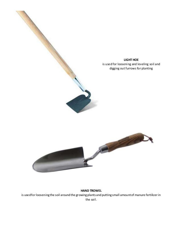 Hand tools for Soil utensils