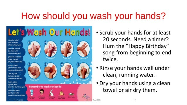 Clean hands protect against infection