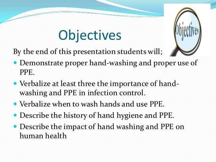 History of and importance of handwashing