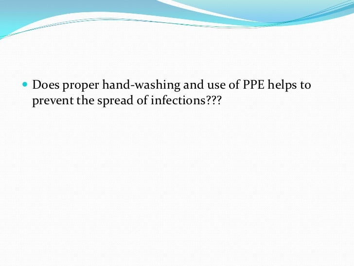 What Does Sd Mean >> Handwashing & ppe ebp final