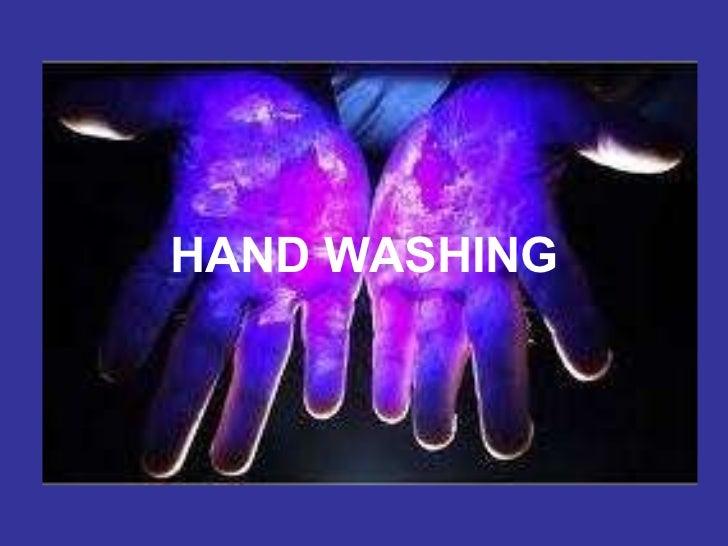 HANDWASHING HAND WASHING