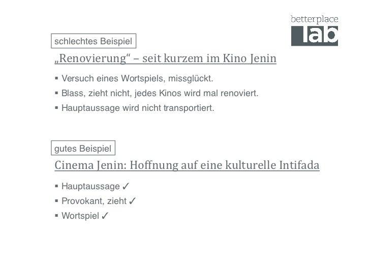 """schlechtes Beispiel!""""Renovierung"""" – seit kurzem im Kino Jenin  Versuch eines Wortspiels, missglückt.! Bl..."""