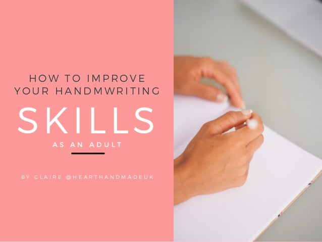 Printable Worksheets For Adults : How to improve your handwriting skills as an adult free printable wu