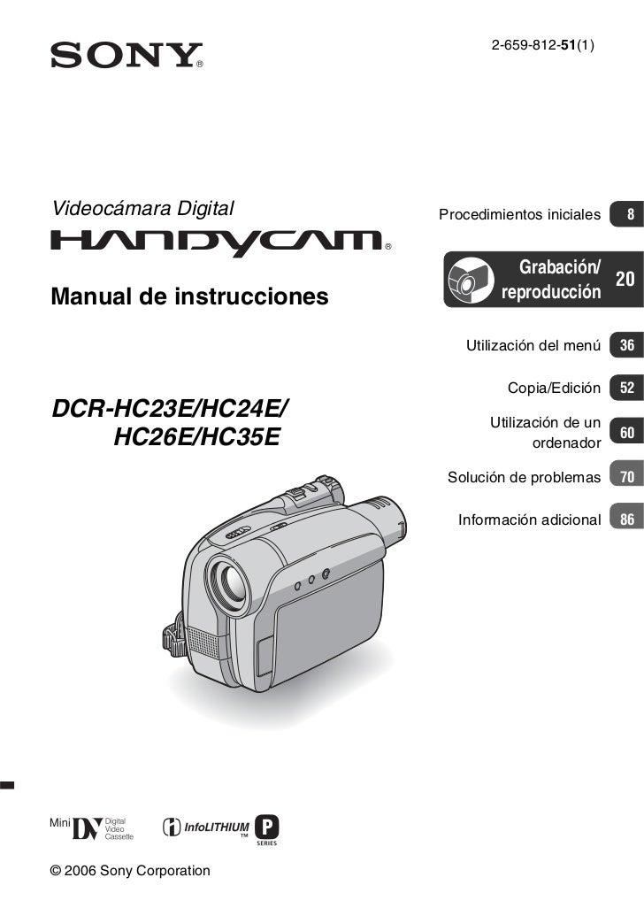 2-659-812-51(1)Videocámara Digital       Procedimientos iniciales   8                                     Grabación/      ...