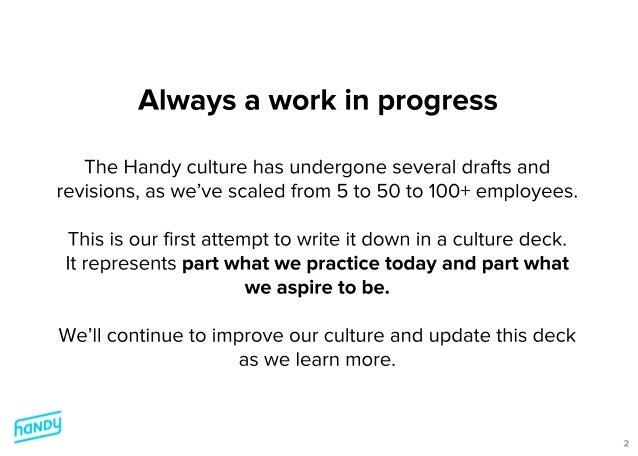 Handy Culture Deck v1.0 Slide 2