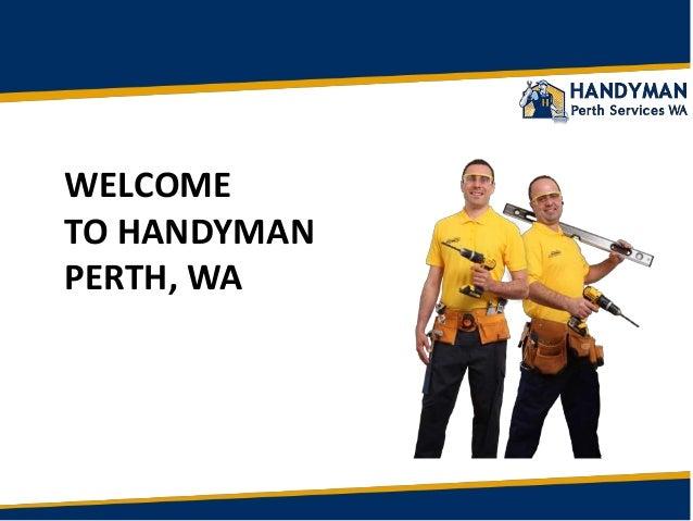 Perth Handyman: Professional Handyman Services Repairs in