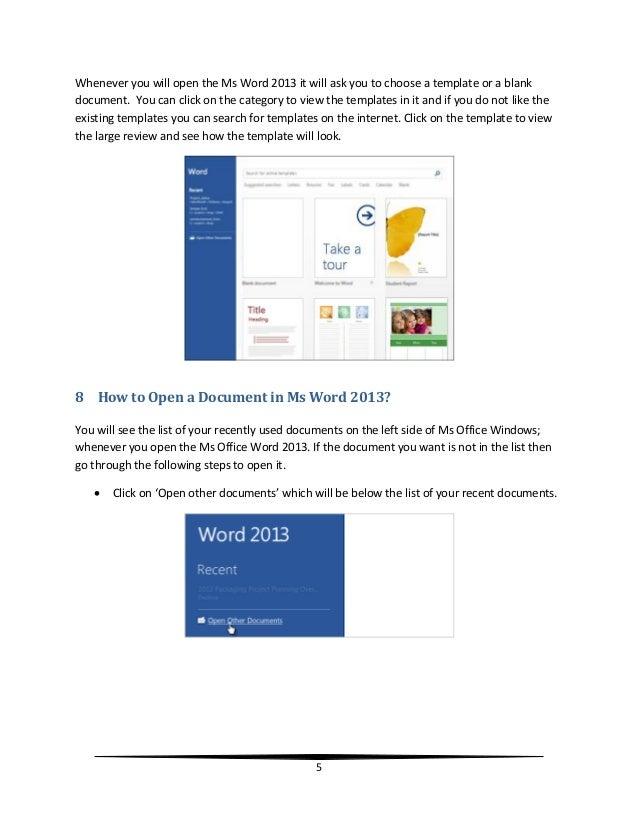 Handy Ms Office 2013 Workbook