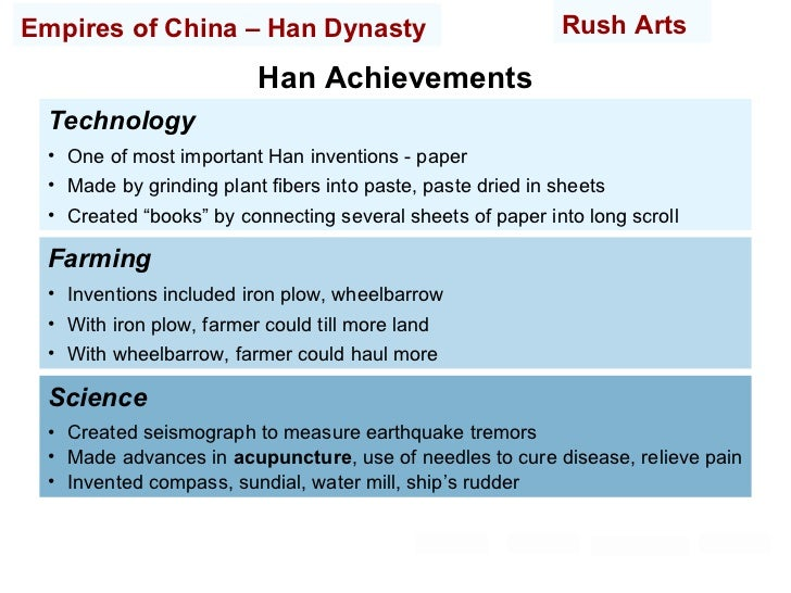 """technological attitudes in han china and Han dynasty china and imperial rome, 300  han cultural identity became synonymous with """"china  the han dynasty became china."""
