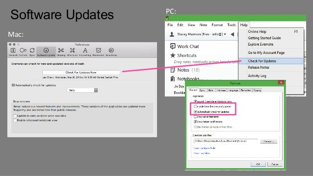 Get Untethered with Evernote - Settings to Race You Forward