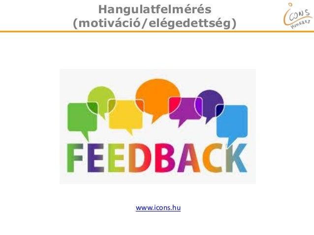 Hangulatfelmérés (motiváció/elégedettség) www.icons.hu
