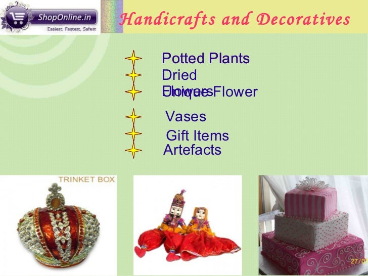 Online shopping gift articles