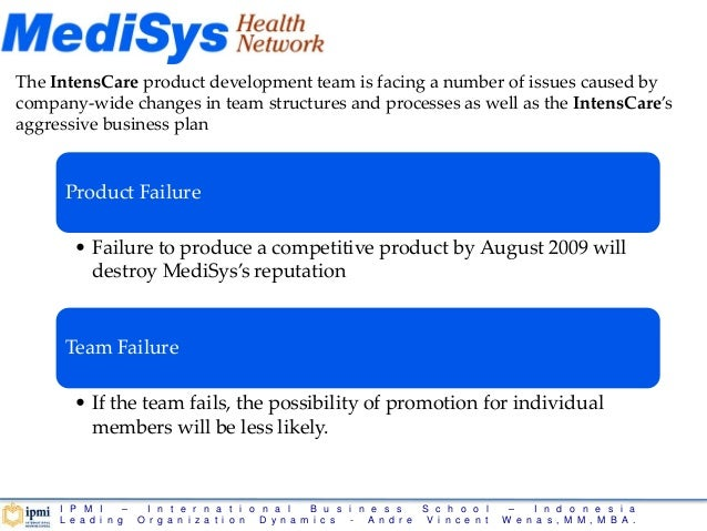 medisys corp the intenscare product development team After years in the industry, enventys partners set out to develop a winning  product using the team's immense internal talent and expertise.