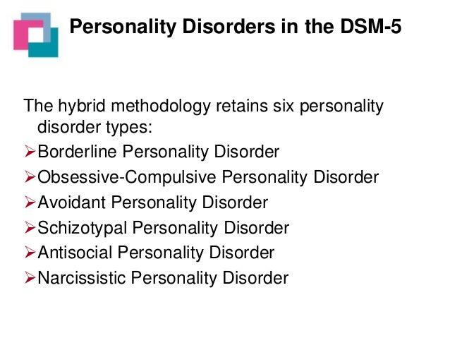 personality disorder research paper People with personality disorders have trouble dealing with everyday (mayo foundation for medical education and research) borderline personality disorder.