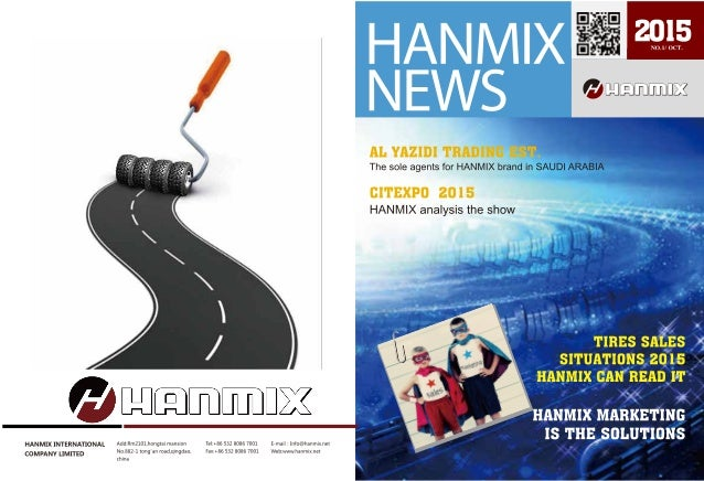 Hanmix Magazine No.1/ Oct. 2015