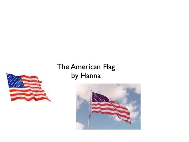 The American Flag    by Hanna
