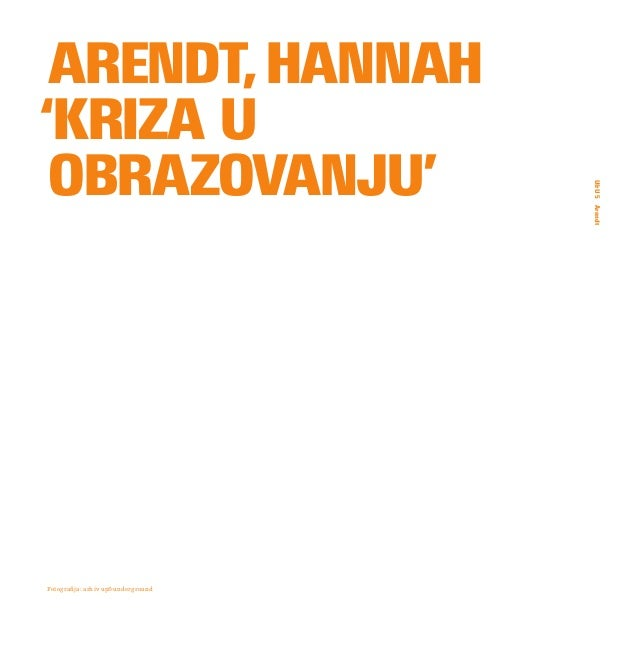 Hannah-arendt-kriza-u-obrazovanju Slide 2