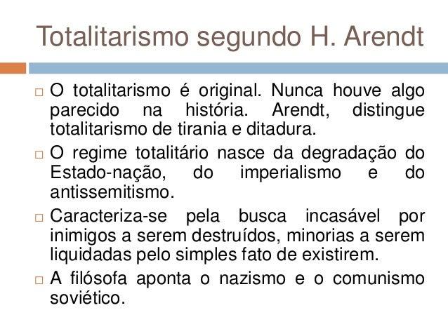 Hannah Arendt As Origens Do Totalitarismo Pdf