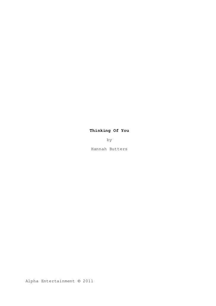 Hannah butters script draft 1