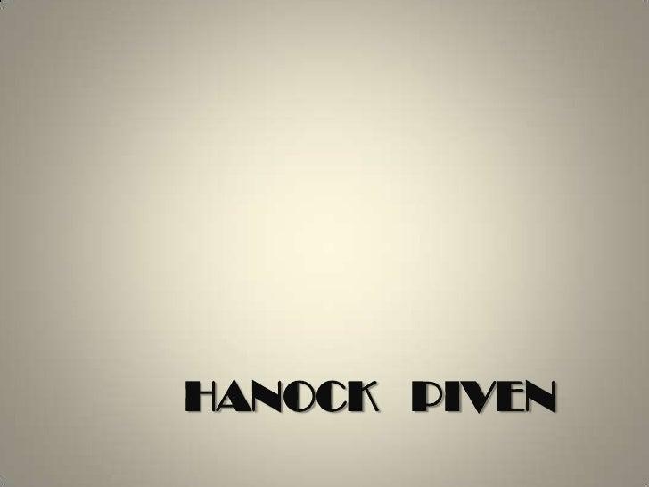 HANOCK   PIVEN<br />
