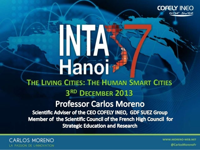 THE LIVING CITIES: THE HUMAN SMART CITIES 3RD DECEMBER 2013