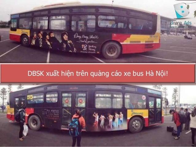 DBSK xuất hiện trên quảng cáo xe bus Hà Nội!