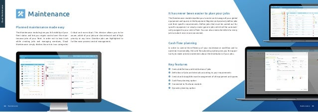 66 Benefits Why choose Cloud Fleet Manager? Save Time + Easy exchange of data + Centralisation of information + Easy colla...