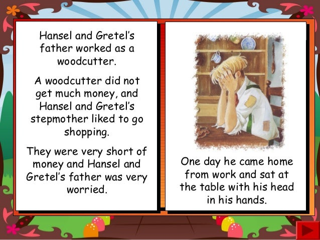 Hansel and gretel short story summary
