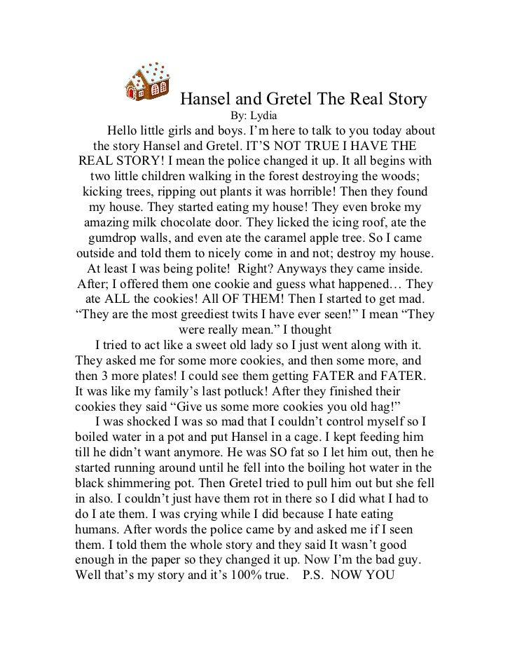 hansel and gretel story summary