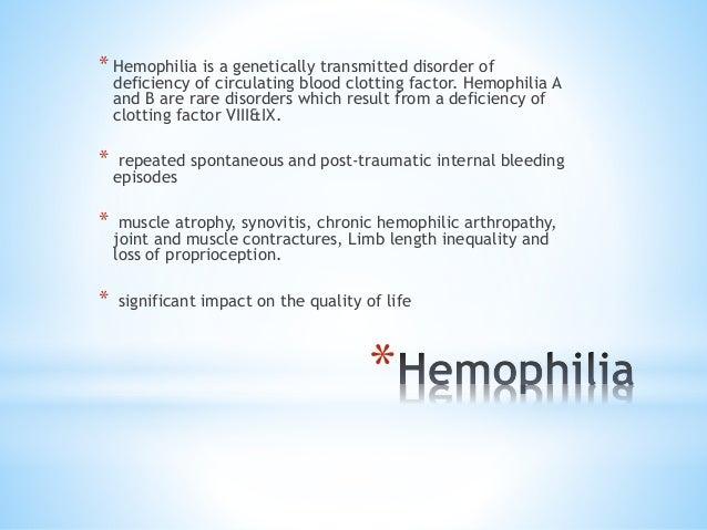 Case Study: Dengue Fever and Hemophilia A