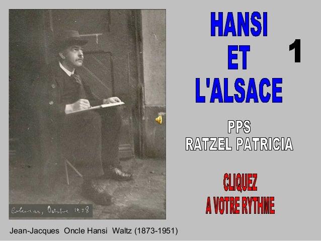Jean-Jacques Oncle Hansi Waltz (1873-1951)