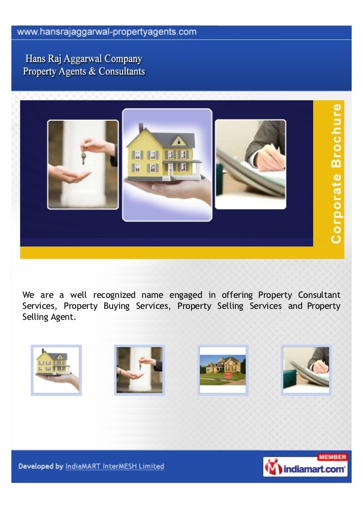We are a well recognized name engaged in offering Property ConsultantServices, Property Buying Services, Property Selling ...