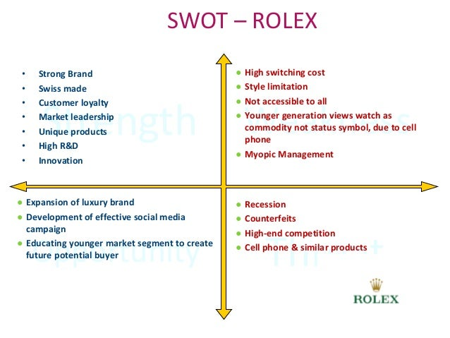 luxury watch swot Luxury goods market (product type - luxury watches and jewelry, apparel and leather goods, luxury personal care products and cosmetics, wines and spirits, and fragrances and perfumes) - global industry analysis, size, share, growth, trends, and forecast 2014 - 2020.