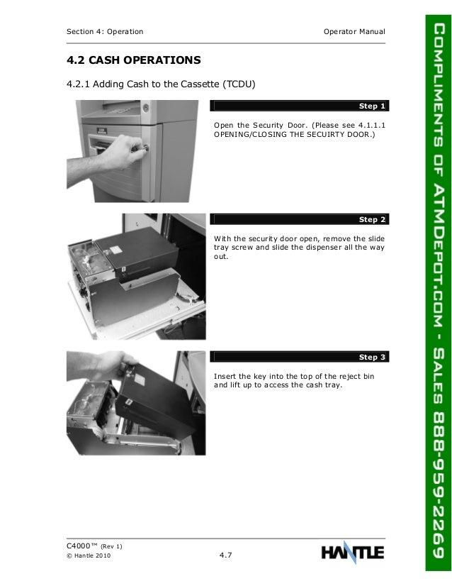 atm money box instructions