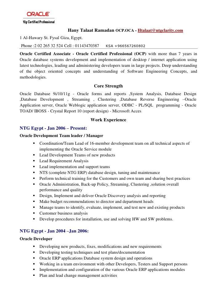 Hany Talaat Resume