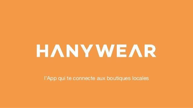 l'App qui te connecte aux boutiques locales