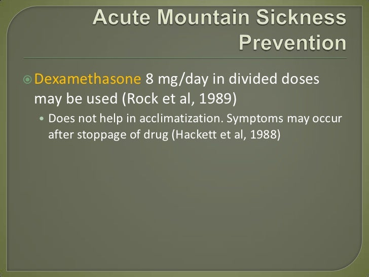 Acetazolamide Dose For Altitude Sickness Prevention