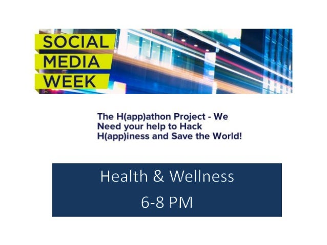 John C. Havens, Founder     H(app)thon at Social Media Week